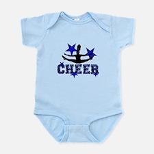 Blue Cheerleader Body Suit