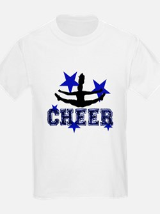 Blue Cheerleader T-Shirt