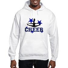 Blue Cheerleader Hoodie