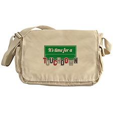 A Touchdown Messenger Bag