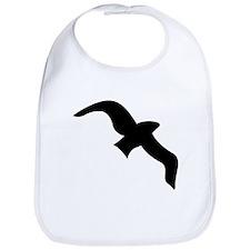 Seagull Silhouette Bib