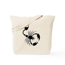 Scorpion Silhouette Tote Bag
