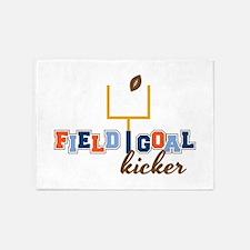 Field Goal Kicker 5'x7'Area Rug