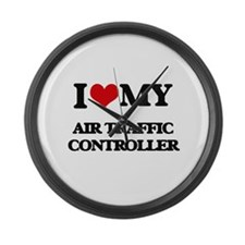 I love my Air Traffic Controller Large Wall Clock