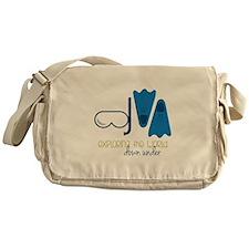 Exploring The World Messenger Bag