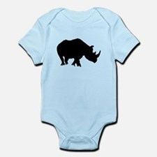 Rhino Silhouette Body Suit
