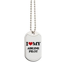 I love my Airline Pilot Dog Tags