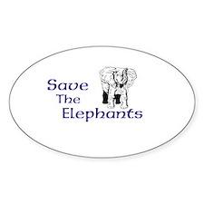 Unique Elephants Decal