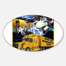 How the WooFDriver Rides - CD Cover Decal