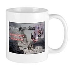 never forget 911 Mugs