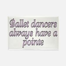 Ballet dancers...pointe - Rectangle Magnet