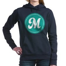 Letter M Women's Hooded Sweatshirt