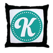 Letter L Throw Pillow