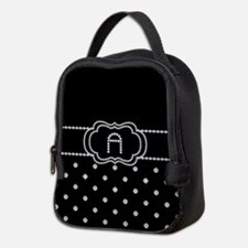 DIAMOND INITIALS: A Neoprene Lunch Bag