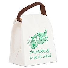 Unique Pregnant Canvas Lunch Bag