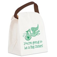 Cute New sister Canvas Lunch Bag