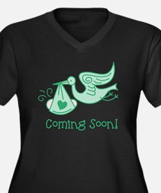 Coming Soon Plus Size T-Shirt