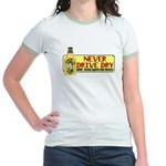 Never Drive Dry Jr. Ringer T-Shirt