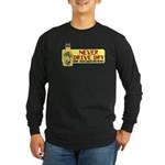 Never Drive Dry Long Sleeve Dark T-Shirt