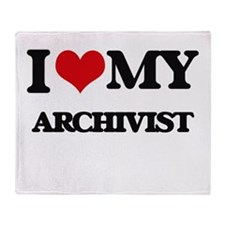 I love my Archivist Throw Blanket