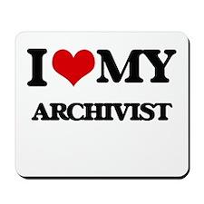 I love my Archivist Mousepad