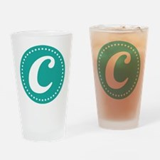 Letter C Drinking Glass