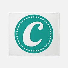 Letter C Throw Blanket