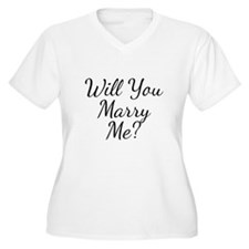 Will You Marry Me? Plus Size T-Shirt