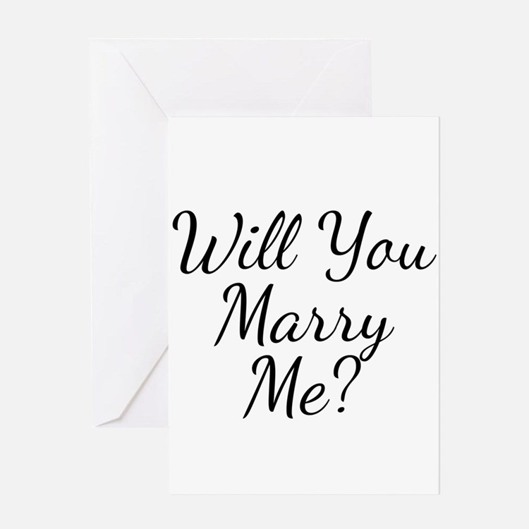 Marriage Proposal Greeting Cards – Marriage Proposal Template