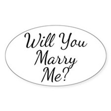 Will You Marry Me? Decal