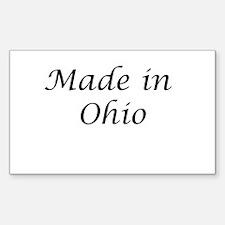Ohio Rectangle Decal