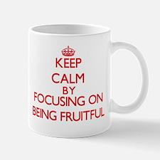 Being Fruitful Mugs