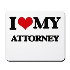 I love my Attorney Mousepad
