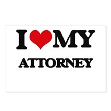 I love my Attorney Postcards (Package of 8)