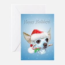 Cute Chihuahua christmas Greeting Cards (Pk of 10)