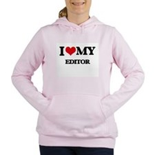 I love my Editor Women's Hooded Sweatshirt