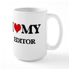 I love my Editor Mugs