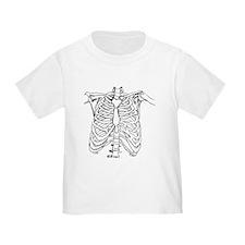 Full Frontal Skeleton T-Shirt