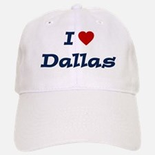 I HEART DALLAS Baseball Baseball Cap