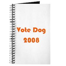 Vote Dog 2008 Journal