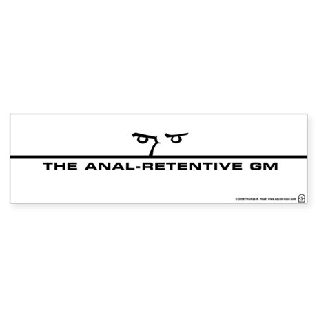 The A-R GM Bumper Sticker