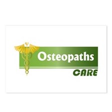 Osteopaths Care Postcards (Package of 8)