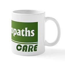 Osteopaths Care Small Mugs
