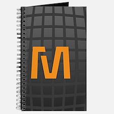 Cool Hign Tech Monogram Journal