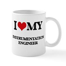 I love my Instrumentation Engineer Mugs