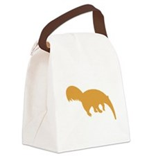Brown Anteater Canvas Lunch Bag