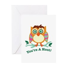 Youre A Hoot Greeting Cards