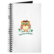 Youre A Hoot Journal