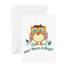 A Hug Greeting Cards