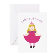 Polite Proper Greeting Cards
